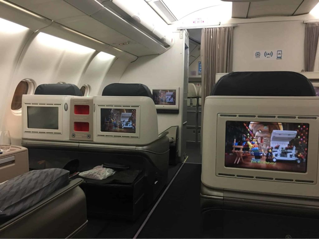 Turkish Airlines Business Class Review and Trip Report