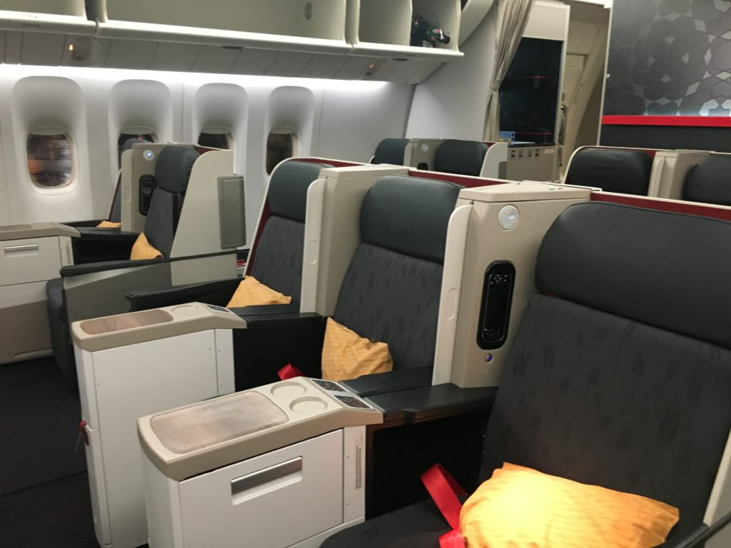 Turkish Airlines Business Class Review, Istanbul – Hong Kong