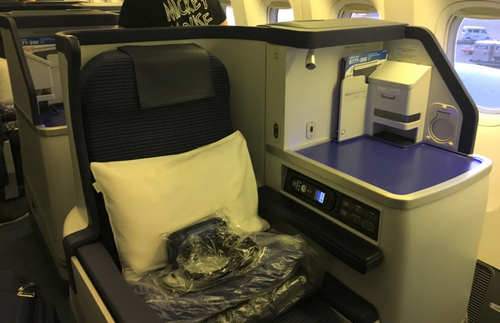 ANA Business Class (777-300) Review – Tokyo to Chicago